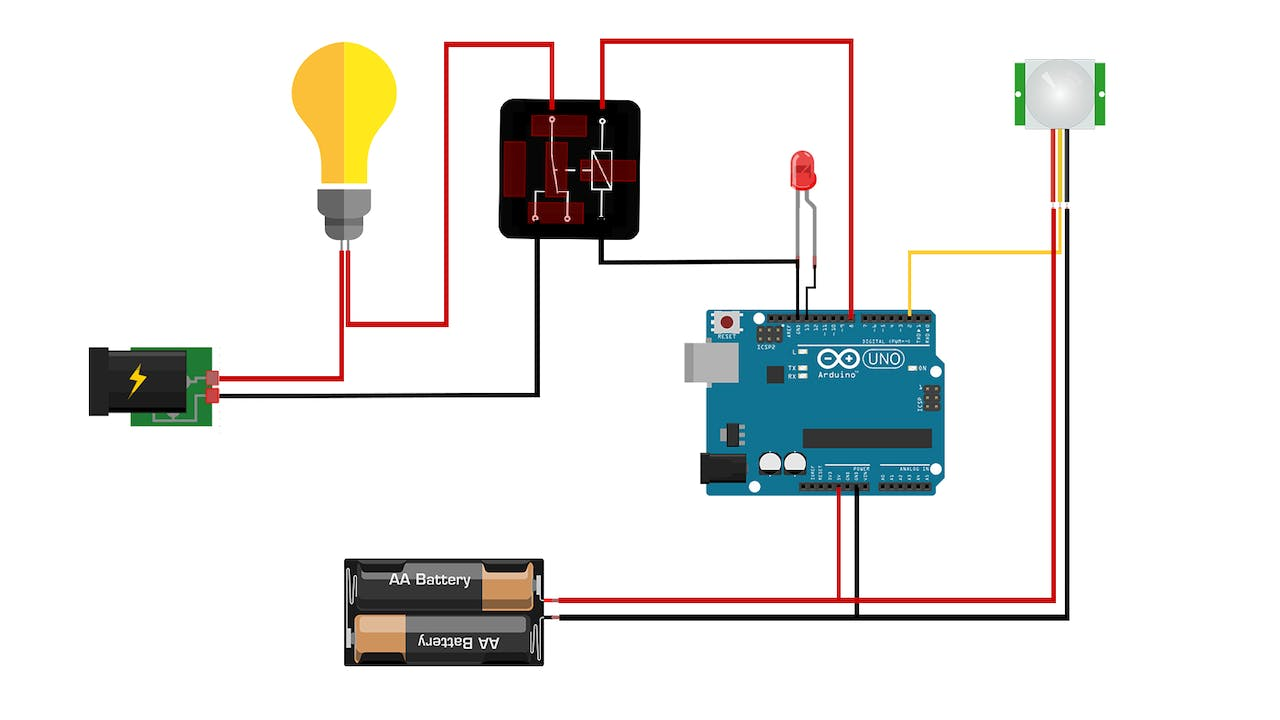 How Pir Sensor Work Circuit Turns On And Allows Almost Any Type Of Photocell To Be Used