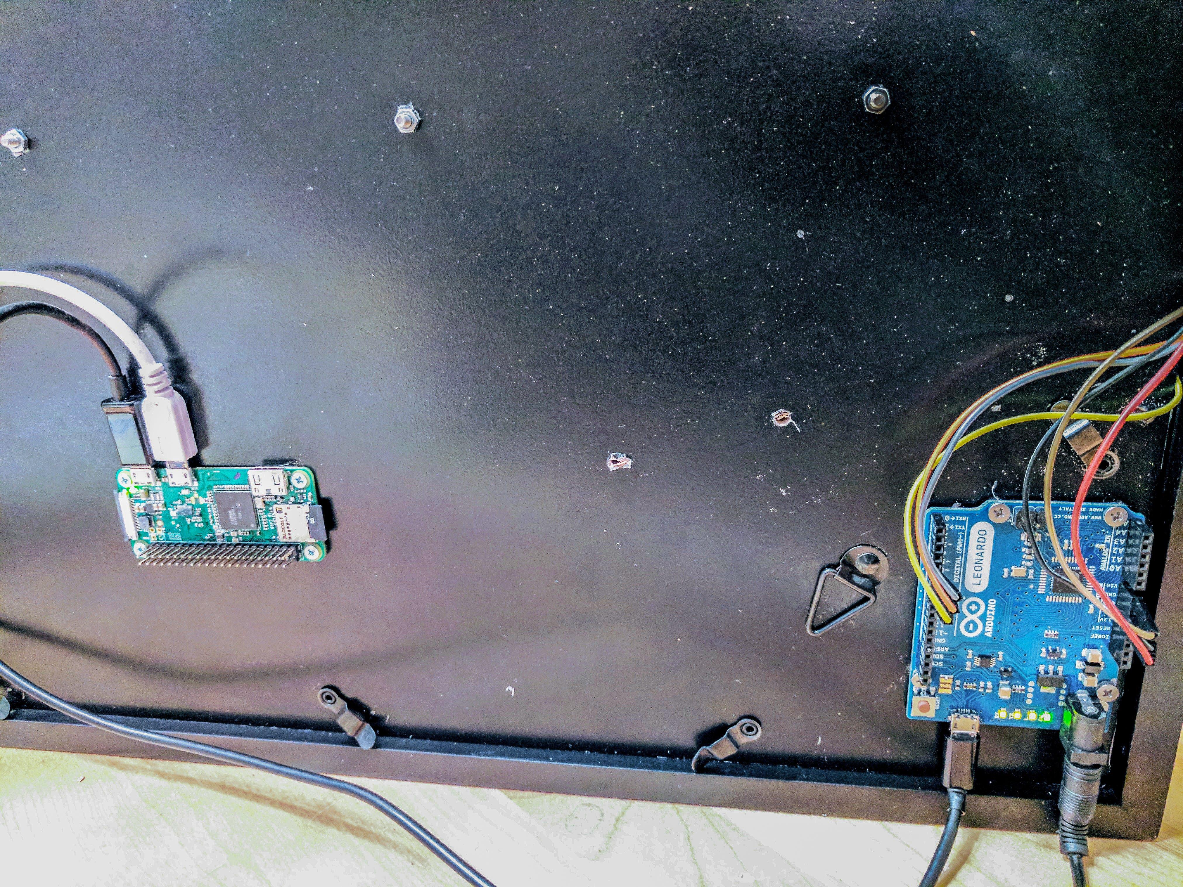 Arduino interface to the Raspberry PI