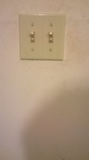 All Tge Light Switches In One Room Failed