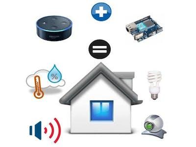 Arduino Home Controller Activated by Alexa