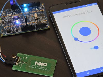 NFC Controlled RGB LED