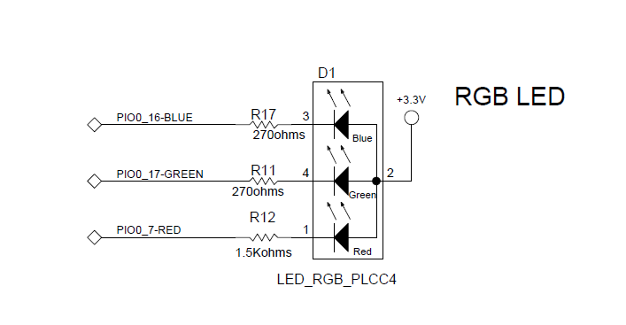 Rgb led wire e9ee42qumc