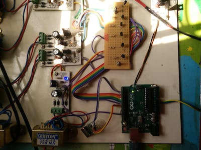 HVAC Temperature And Status Monitoring With Arduino
