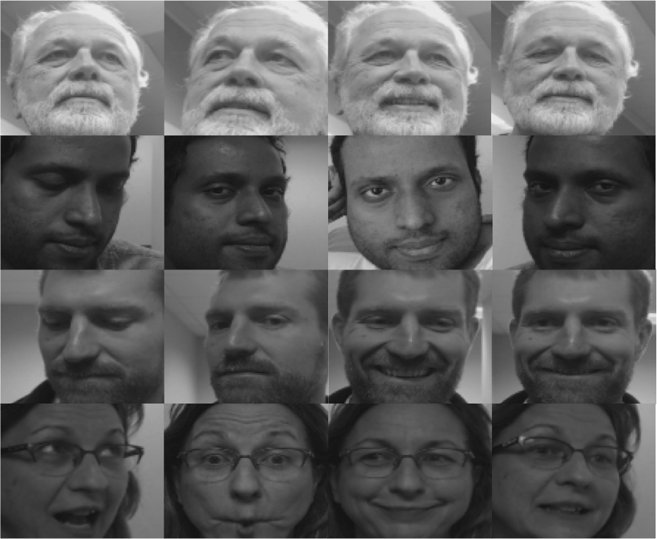 Several views and angles are taken to train the OpenCV algorithm