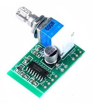 PAM8403 - Mini Audio Amplifier (3W + 3W)