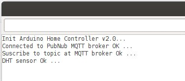 Arduino Yun successful initialize and connected to PubNub(c) broker