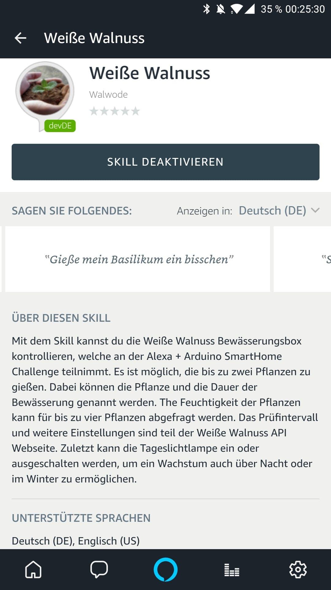 Herb Box Alexa Skill (german)