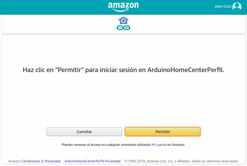 Allow access to your account (in your origin language)