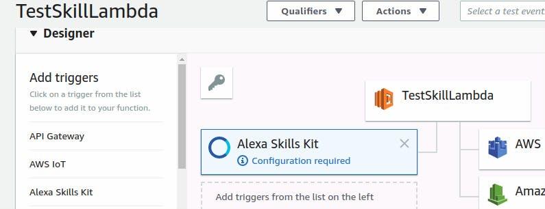 Alexa Skills Kit added