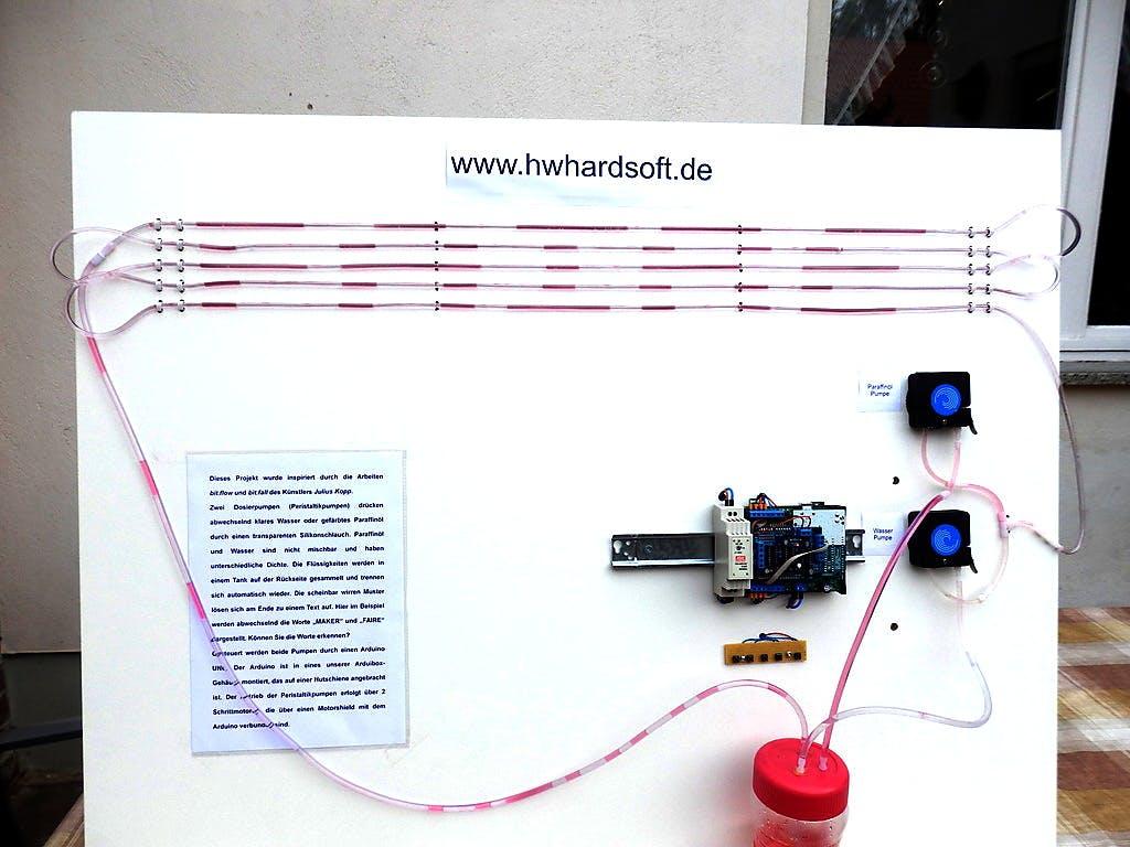 Crazy Arduino Hose Display