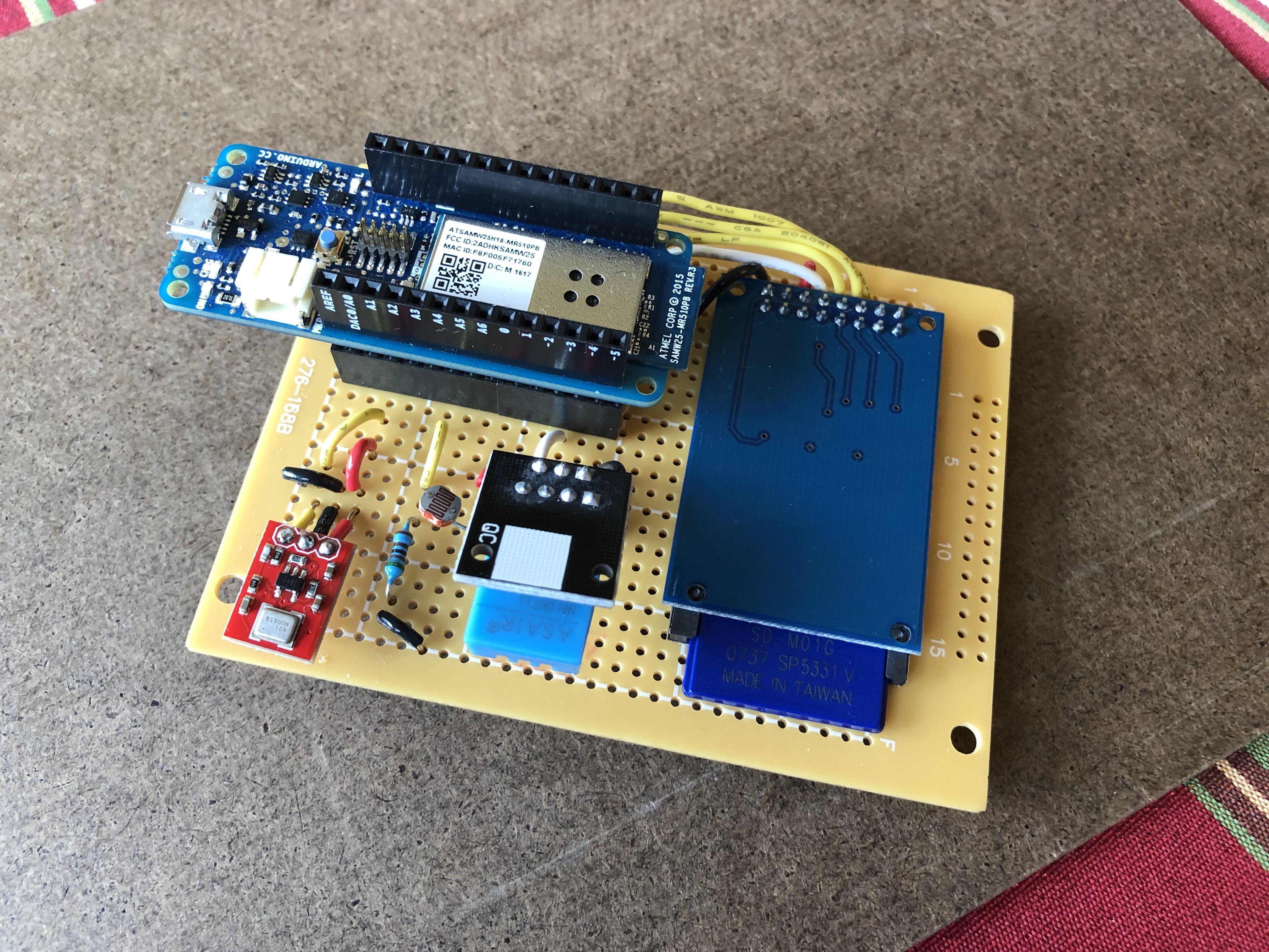 Final circuit board layout