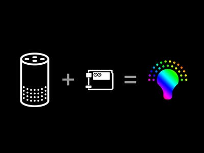 Amazon Alexa / Arduino YÚN Smart Home Light Sample