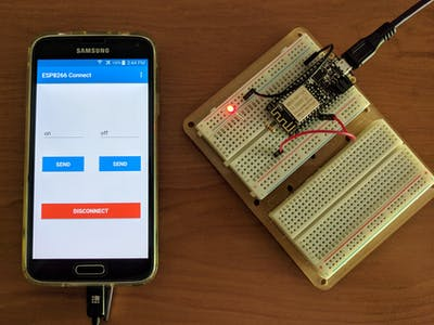 Android To ESP8266 Comunication