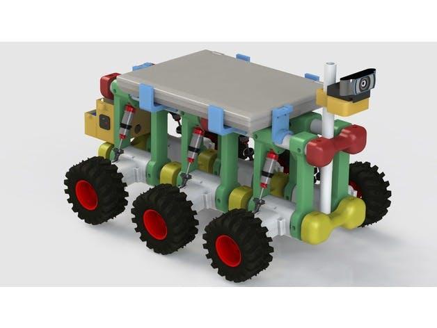 AVALANCHE - Low Cost Autonomous Robot