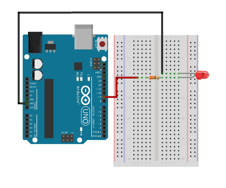 First nodebot led 5b9nrdigmy