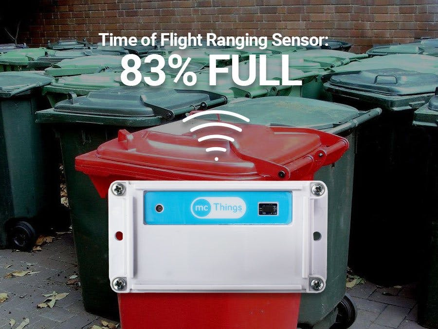 IoT Garbage Can Using The New TrackALL Device!