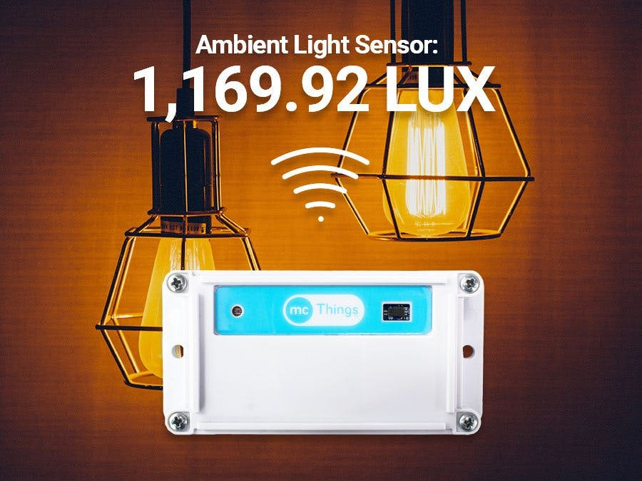 IoT Light/LUX Sensor Monitoring Using the TrackALL!