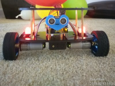 PHPoC - Arduino Self Balancing Robot with BT+Web Control