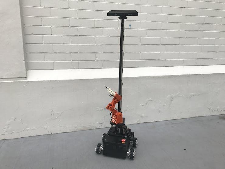 First version of O'nine (belt driven arm lift)
