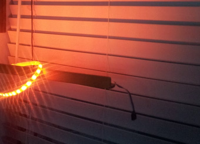 Solar Battery Powered Switch For Blinds Lights And
