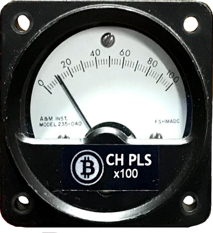 A&M Instruments Model 235-040 1mA DC Full scale Meter