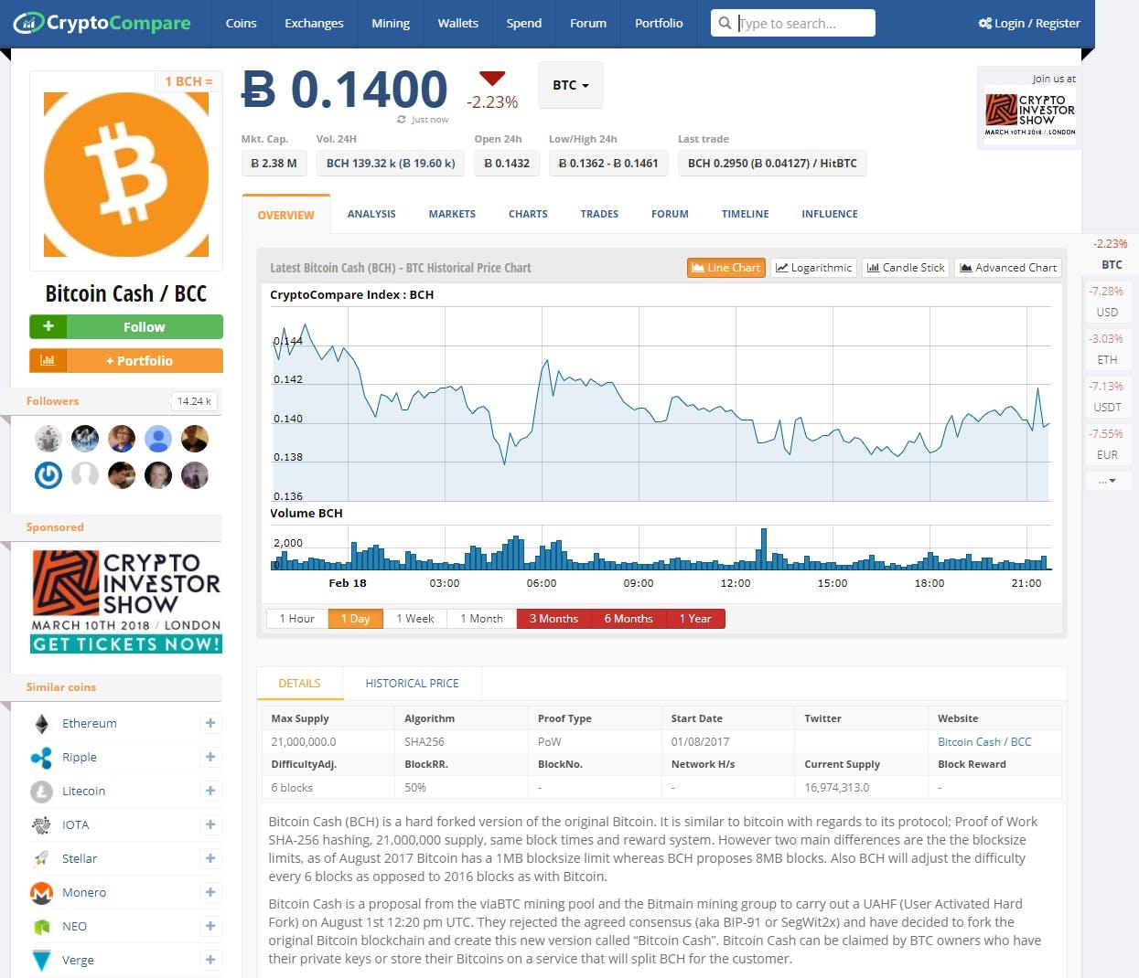 cryptocompare.com