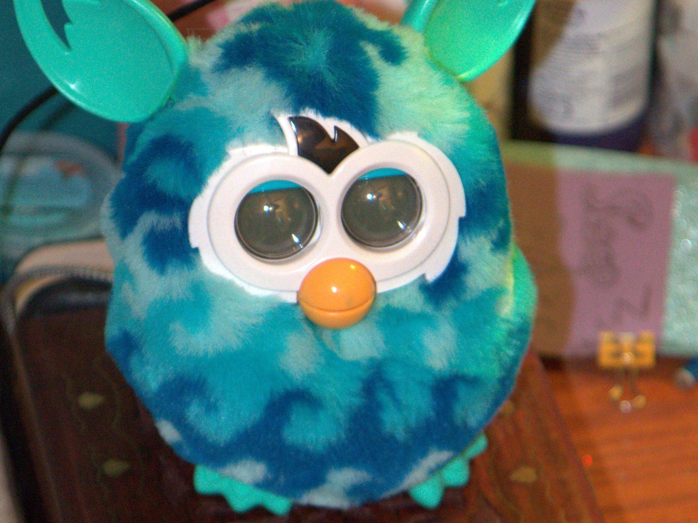 Furby on a Box