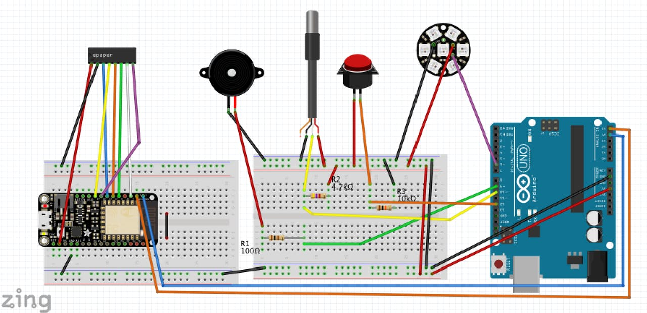 Alexa Bbq Kitchen Thermometer With Iot Arduino And E Paper Net O View Topic Bmw Reset Tool Circuit Diagram Please Check