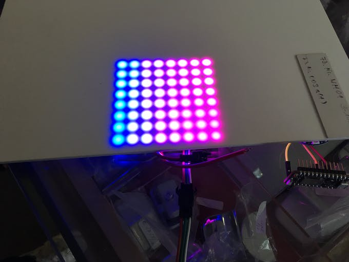 ...and it's bigger brother, the LED matrix
