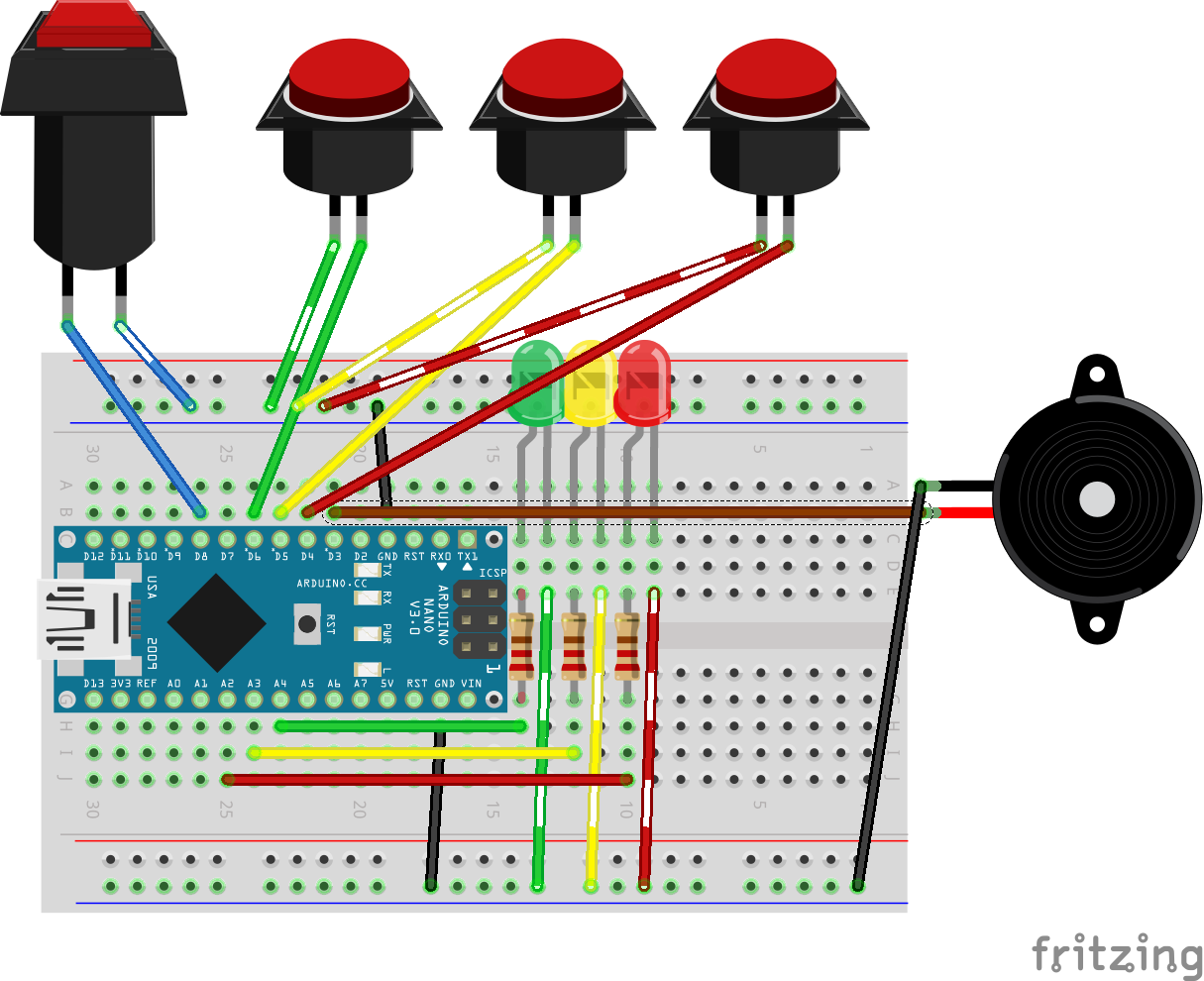 ring in system hackster io House Wiring Diagram we first built this on a breadboard, then moved it to a protoboard so it was semi permanent here is a wiring diagram