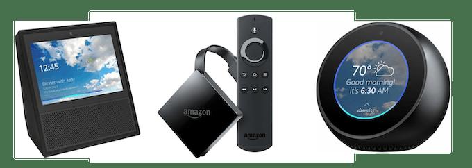 Amazon Fire TV, Alexa, Echo Spot and Echo Show are registered trademarks of Amazon.com, Inc