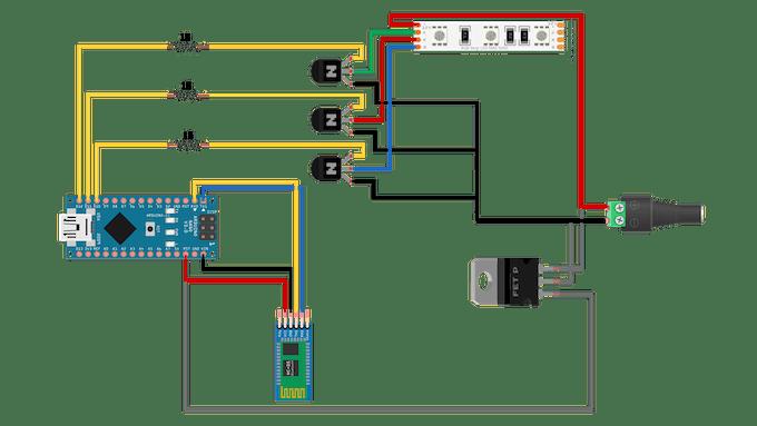 Arduino Nano Conection