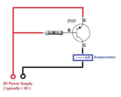 Circuit to Determine Equivalent Transistors