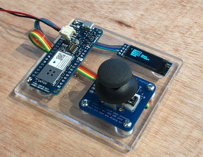 Basic (2-Axis) Joystick PTZ Controller with OLED