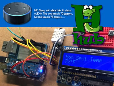 Habitat Hub: An Alexa and Arduino Smart Home for terrariums.