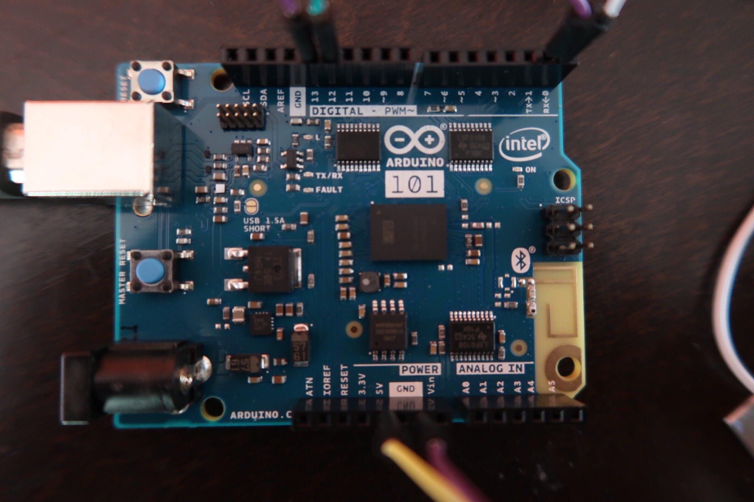 Arduino 101's Wiring