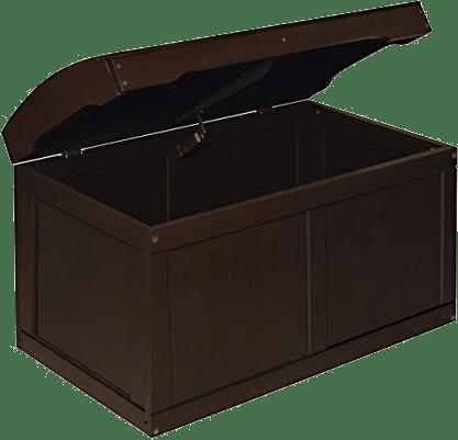 Badger Basket Barrel Top Expresso Toy Chest