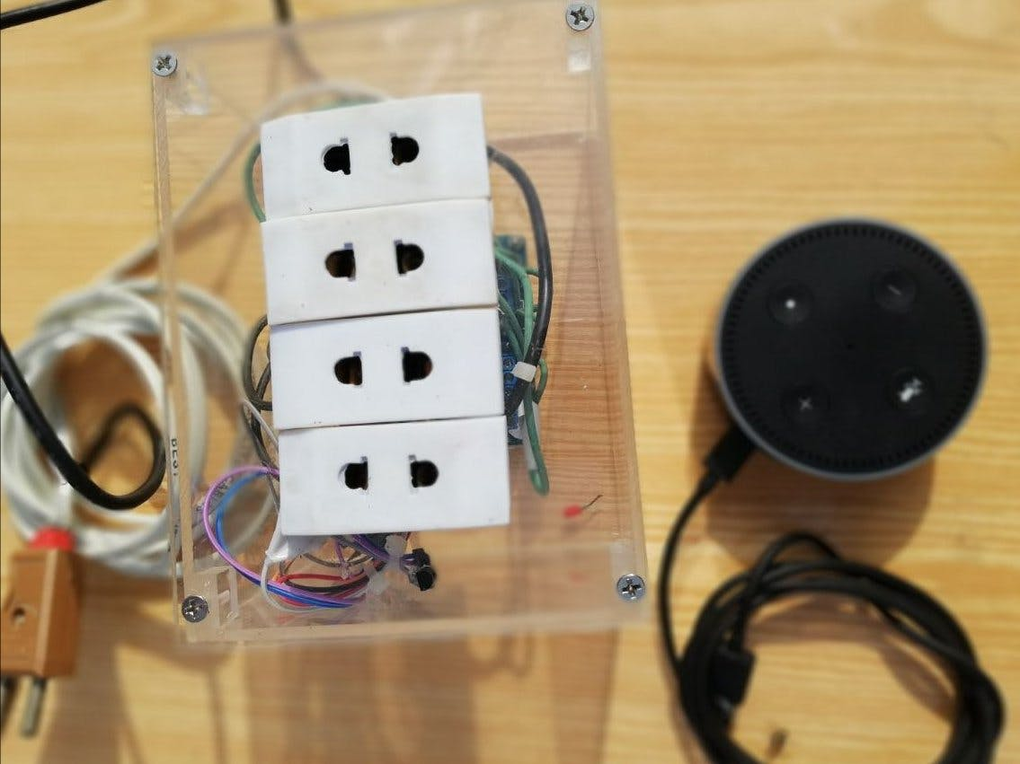 Alexa Smart Power Strip with Temperature