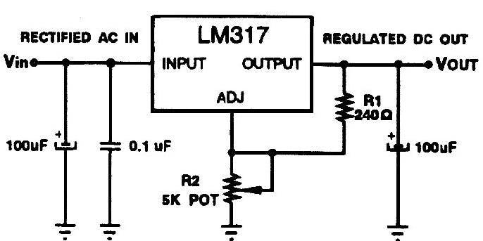 12V to 5V Circuit