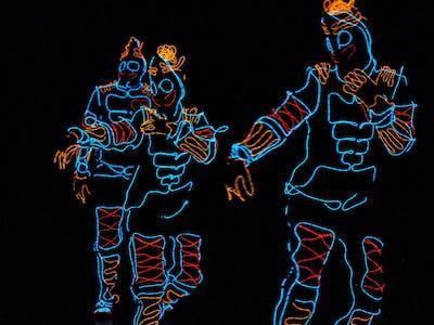 EL Wire Dance Troupe