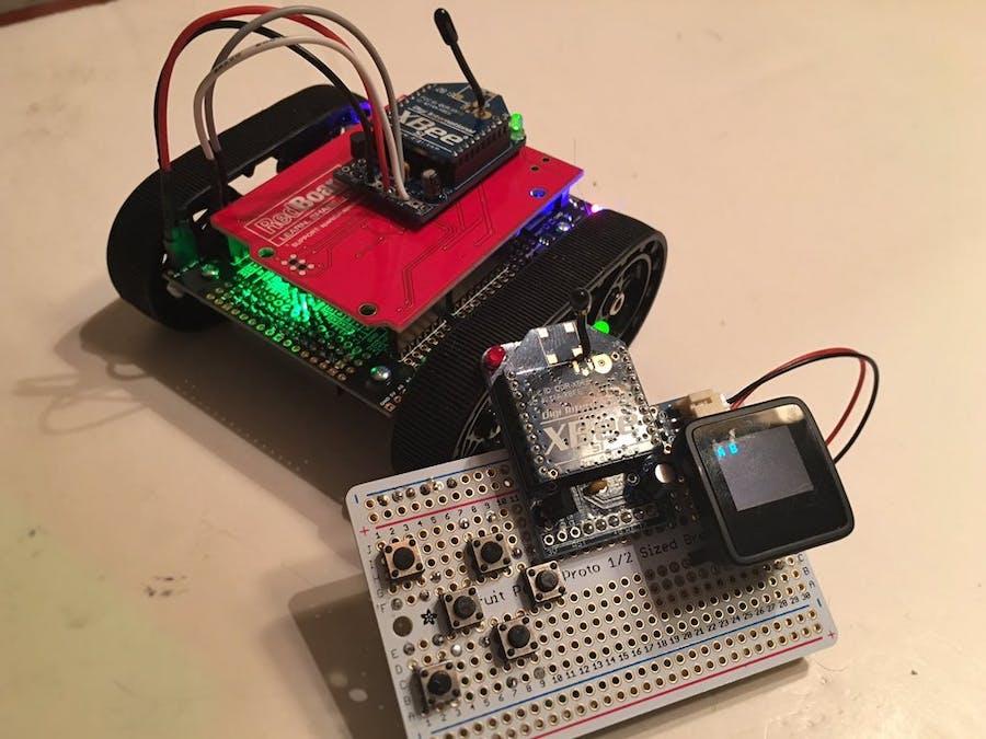 Arduino Wireless Robot Tank