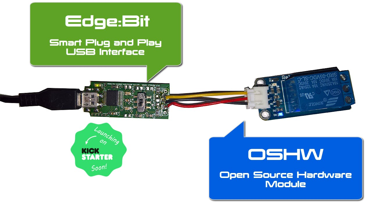 Edge:Bit - Smart USB Interface for OSHW