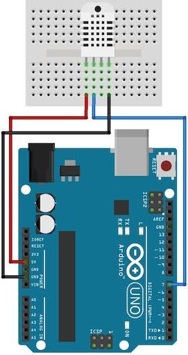 Temperature and Humidity Sensor (DHT11)