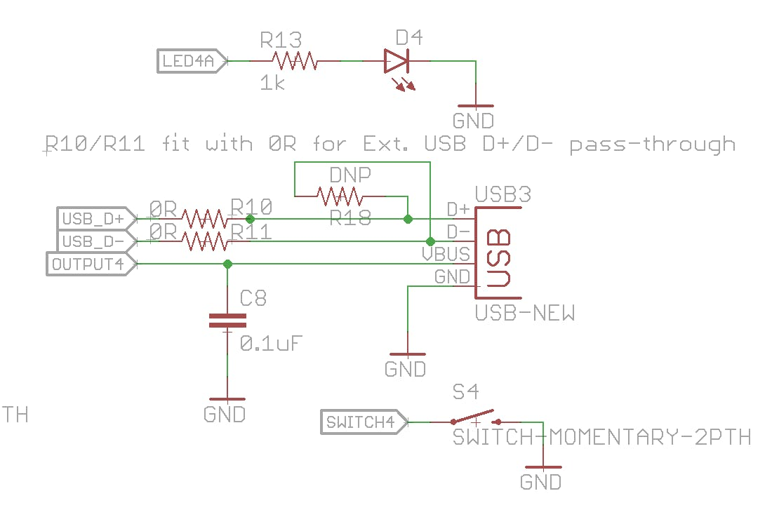Enable USB D+/D- passthrough with R10/11