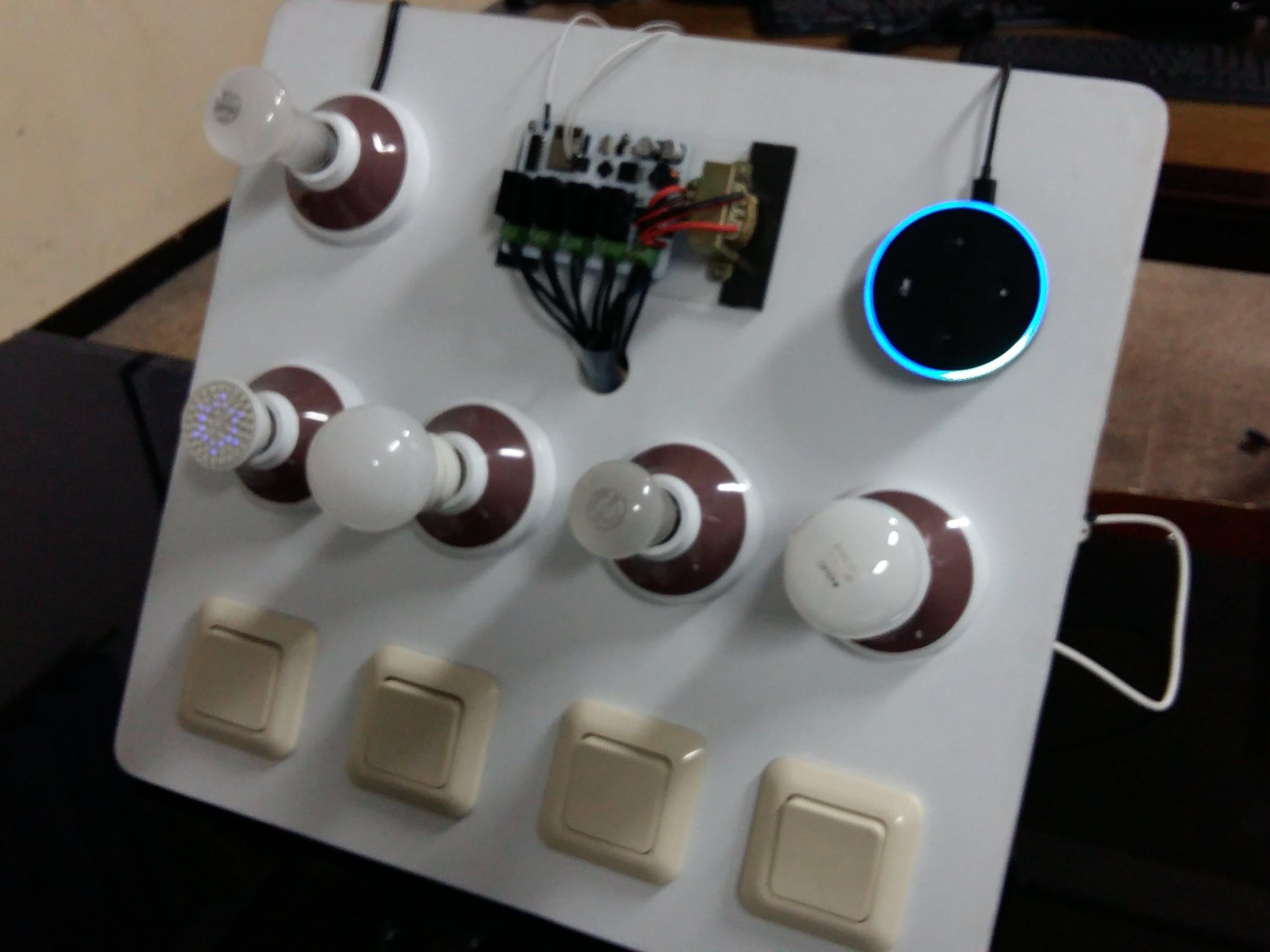 Echo Dot Home Automation