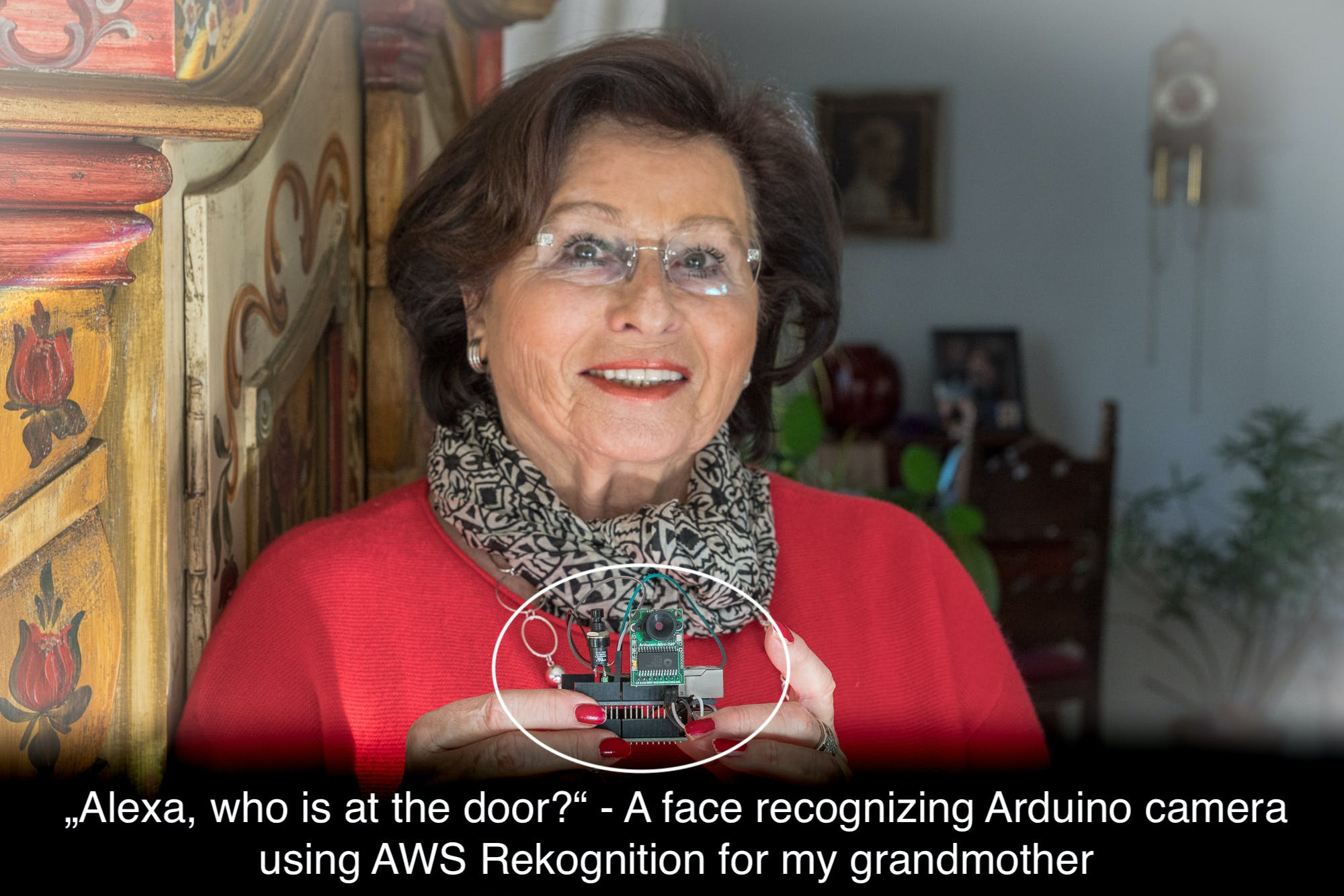 Alexa Controlled Face Recognizing Arduino Door Bell