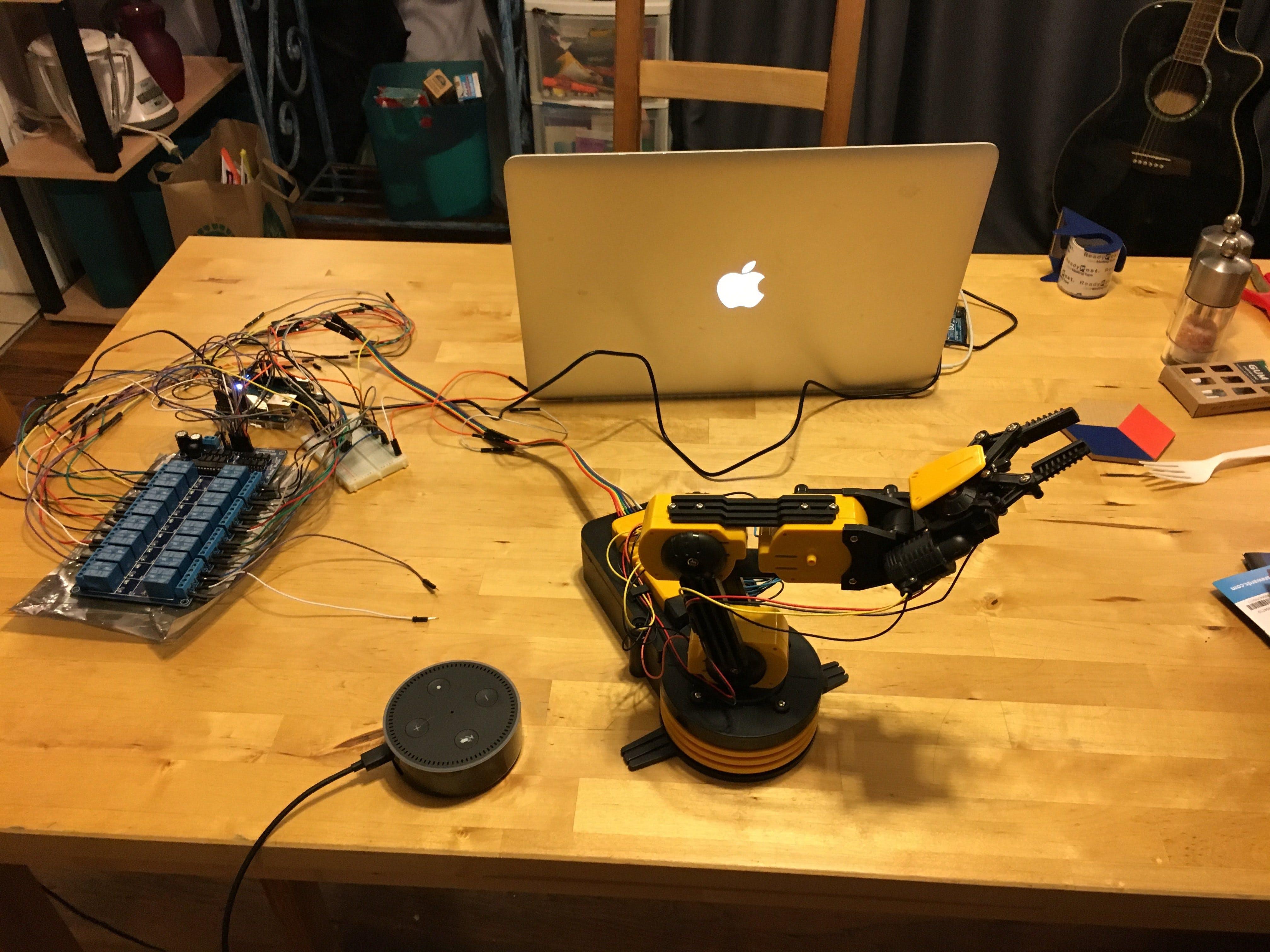 Alexa Robot Arm