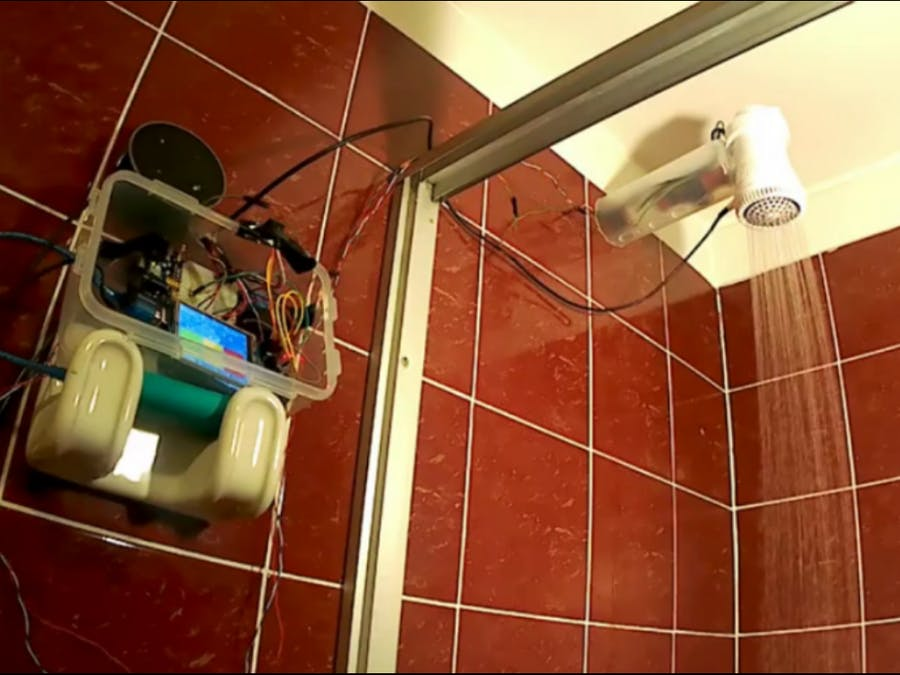 Wise Shower Driven by Alexa Skill