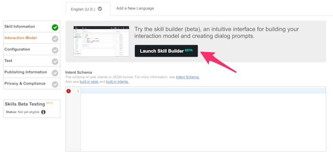 Click on Skill Builder