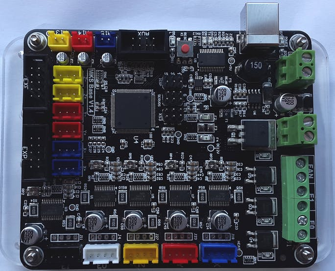 MKS Base 1.4 - an Arduino Mega 2560 based 3D printer motherboard